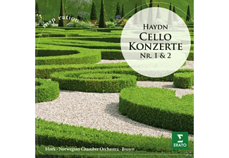 Iona Brown, Mork Truls, The Norwegian Chamber Orchestra - Cellokonzerte - (CD)