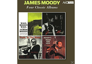 James Moody - Four Classic Albums - (CD)
