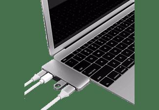 Hyper USB-C 5 in 1 Adapter Kit Silver USB 3.1