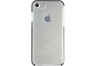 SPADA Military Shock Proof, Backcover, Apple, Backcover, iPhone 7/iPhone 8, TPE, Transparent/Schwarz