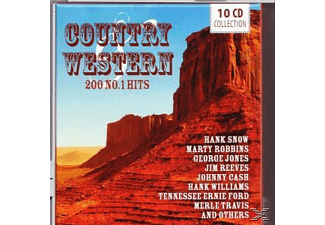 VARIOUS - Country & Western-200 No.1 Hits - (CD)