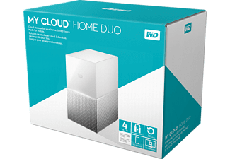 WD My Cloud™ Home Duo  4 TB extern