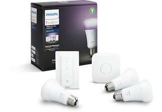 PHILIPS Hue Color Starterkit inclusief Hue dimmer switch