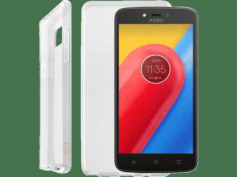 "IDOL 1991 Θήκη Lenovo Moto C 5.0"""" Air Slim Tpu White smartphones   smartliving αξεσουάρ κινητών θήκες  μεμβράνες lenovo"