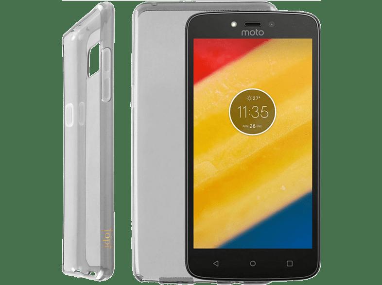 "IDOL 1991 Θήκη Lenovo Moto C Plus 5.0"""" Air Slim Tpu Grey smartphones   smartliving αξεσουάρ κινητών θήκες  μεμβράνες lenovo"
