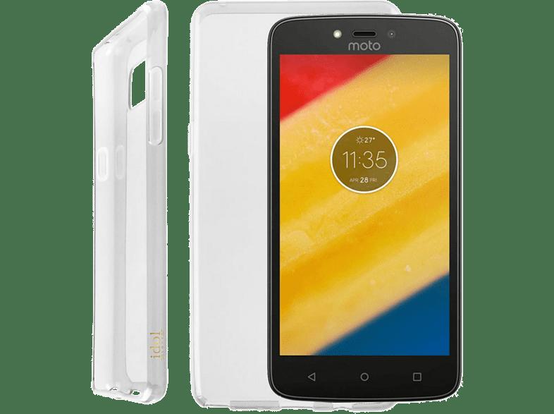 "IDOL 1991 Θήκη Lenovo Moto C Plus 5.0"""" Air Slim Tpu White smartphones   smartliving αξεσουάρ κινητών θήκες  μεμβράνες lenovo"