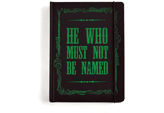 "Harry Potter Notizbuch ""He Who Must Not Be Named"