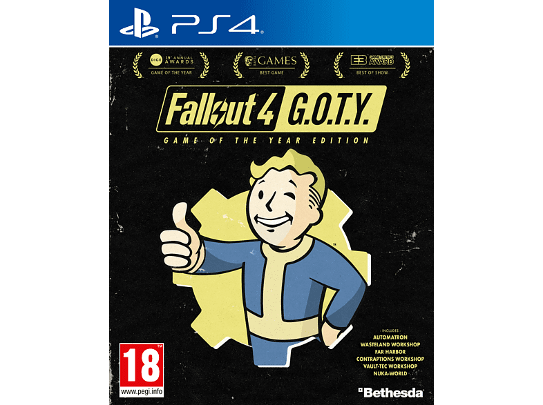 Fallout 4: Game of The Year PlayStation 4 gaming games ps4 games