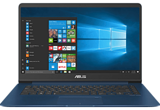 ASUS UX530UX-FY040T, Gaming Notebook mit 15.6 Zoll Display, Core™ i7 Prozessor, 8 GB RAM, 512 GB SSD, GeForce GTX 950M, Blau
