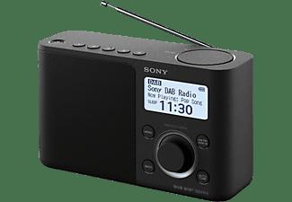 DAB+ Transistorradio Sony XDR-S61D AUX, DAB+, FM Zwart