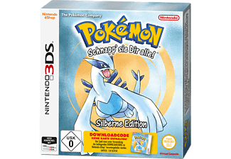 Pokémon Silber Edition (Code in a Box) [Nintendo 3DS]