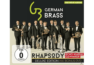 German Brass - Rhapsody-Deluxe Edition - (CD + DVD Video)