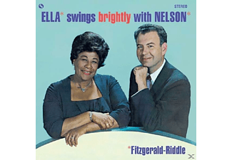 Ella Fitzgerald - Swings Brightly With Nelson - (Vinyl)