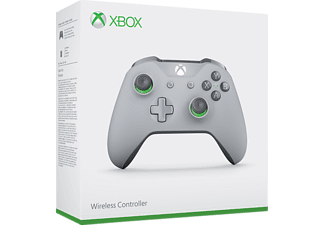 MICROSOFT Xbox One Wireless, Controller, Grau/Grün