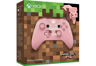 MICROSOFT Xbox One Wireless Controller Minecraft Pig SE, Controller