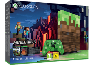 MICROSOFT Xbox One S 1TB Konsole - Minecraft [Limited Edition]