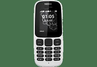 Nokia mobiele telefoon 105 + Lebara-prepaid (Wit)