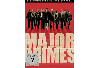 Major Crimes - Die komplette 5. Staffel (5 Discs) - (DVD)