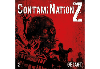 ContamiNationZ 02: Gejagt - 1 CD - Hörbuch