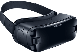 SAMSUNG Gear VR with Controller, Virtual Reality Brille + Controller, Orchid Gray/Schwarz