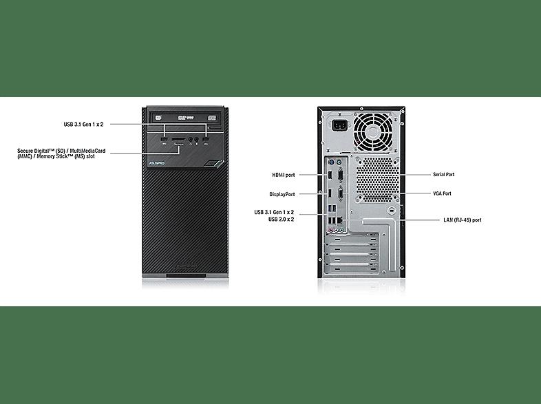 Asus D320MT-I56400041C asztali PC (Core i5-6400/4GB/256GB SSD/Windows 10)