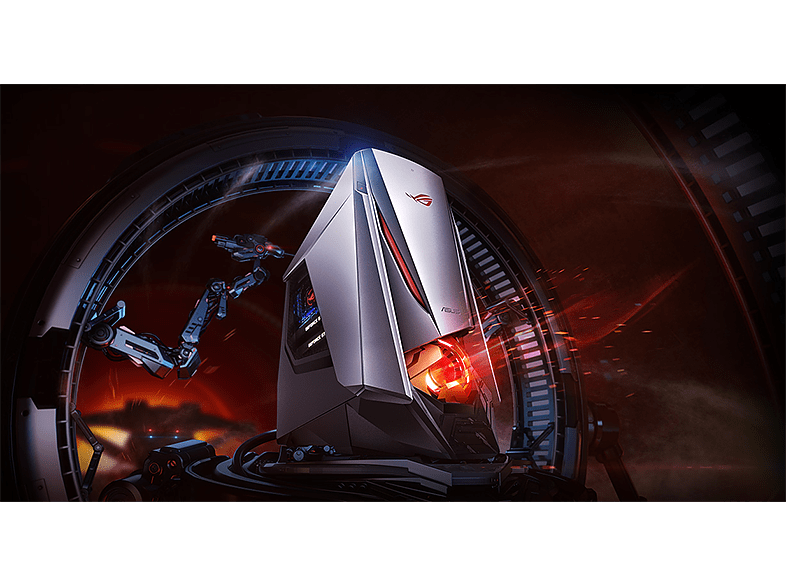 Asus ROG GT51CA-HU041T gaming PC (Core i7-6700K/64GB/512GB SSD + 3TB HDD/GTX1080 SLI/Windows 10)