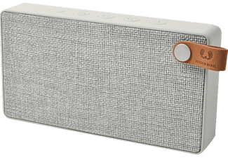 FRESH N REBEL Rockbox Slice Fabriq Edition, Bluetooth Lautsprecher, Ausgangsleistung 2x 3 Watt, Hellgrau