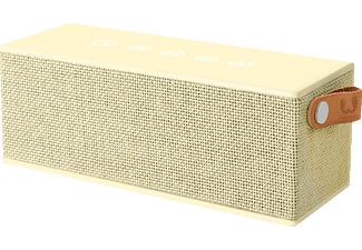 FRESH N REBEL Rockbox Brick Fabriq Edition Gelb Bluetooth Lautsprecher