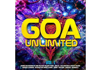 VARIOUS - Goa Unlimited Vol.1 - (CD)