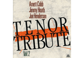 COBB,A./HEATH,J./HENDERSON,J. - TENOR TRIBUTE-VOL.2 - (CD)