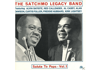 The Satchmo Legacy Band - SLUTE TO POPS VOL.1 - (CD)