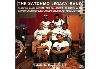 The Satchmo Legacy Band - SALUT TO POPS VOL.2 - (CD)