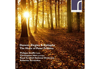Graffin/Hart/Servenikas/SNO - Dances,Elegies & Epitaphs - (CD)