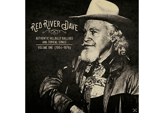 Red River Dave - Authentic Hillbilly Ballads And Topical Songs - (Vinyl)