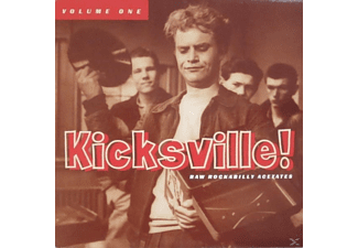 VARIOUS - Kicksville! Raw Rockabilly Acetates Vol.1 - (Vinyl)