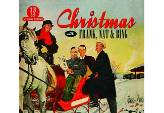 VARIOUS - Christmas With Frank,Nat & Bing - (CD)