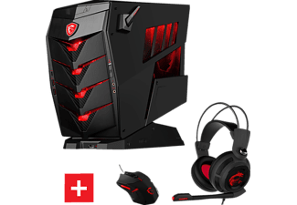 MSI Aegis X3 VR7RD, Gaming PC mit Core™ i7 Prozessor, 16 GB RAM, 256 GB SSD, 2 TB HDD, GeForce GTX 1070 Gaming 8G GDDR5 Grafikspeicher