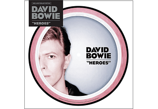 "David Bowie - ""Heroes (40th Anniversary, 7"" Picture Disc Edition) (Vinyl LP (nagylemez))"