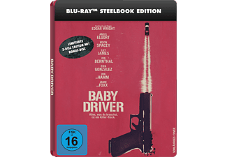 Baby Driver (Steelbook-Edition) Exklusiv  [Blu-ray]