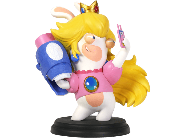 Mario & Rabbids Kingdom Battle Rabbid Peach 6 gaming παιχνίδια φιγούρες