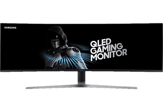 SAMSUNG C49HG90DMU Curved 48.9 Zoll  Gaming Monitor (1 ms Reaktionszeit, FreeSync, 144 Hz)