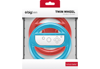 BIGBEN SWITCH Wheel Duo Pack, Lenkrad, Rot/Blau