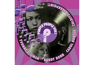VARIOUS - Purple People Vol.1 (4CD Box-Set) - (CD)