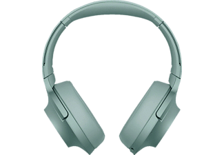 SONY WH-H 900 N, Over-ear Kopfhörer, Near Field Communication, Headsetfunktion, Bluetooth, Grün
