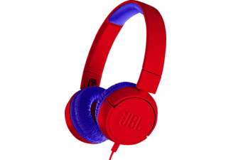 JBL JR300, On-ear Kopfhörer, Rot