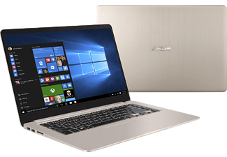 "ASUS VivoBook S15 S510UA-BQ482T arany notebook (15,6"" Full HD IPS/Core i5/128GB SSD + 1TB HDD/Windows 10)"