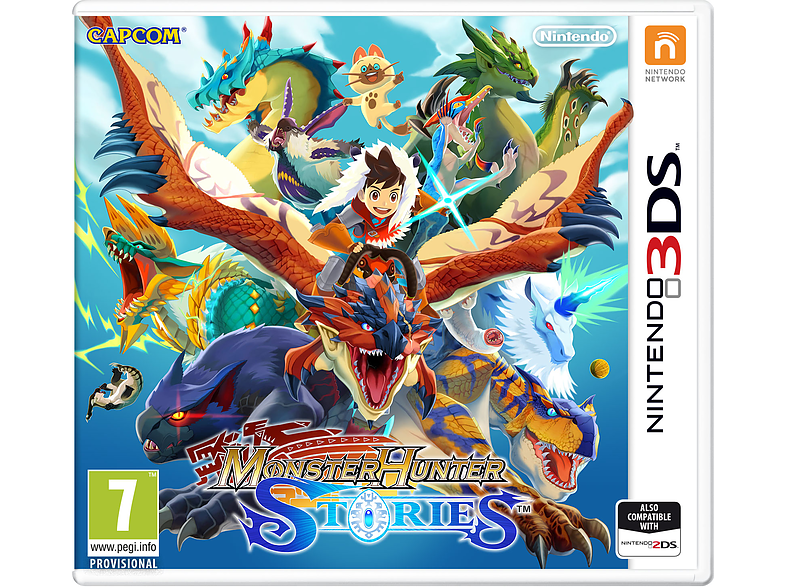 Monster Hunter Stories Nintendo 3DS gaming φορητές κονσόλες games 2ds  3ds
