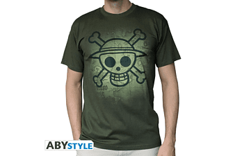 Skull With Map Used - Khaki M