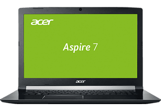 ACER Aspire 7 (A717-71G-564H), Gaming Notebook mit 17.3 Zoll Display, Core™ i5 Prozessor, 8 GB RAM, 128 GB SSD, 1 TB HDD, GeForce® GTX 1050, Schwarz