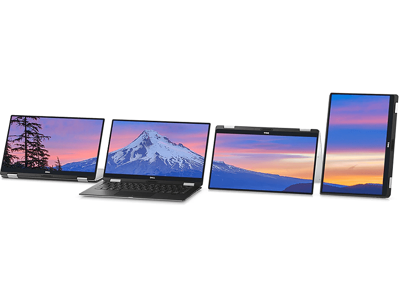 "DELL XPS 13 9365-226353 ezüst 2in1 eszköz (13.3"" Quad HD touch/Core i7/8GB/512GB SSD/Windows 10)"